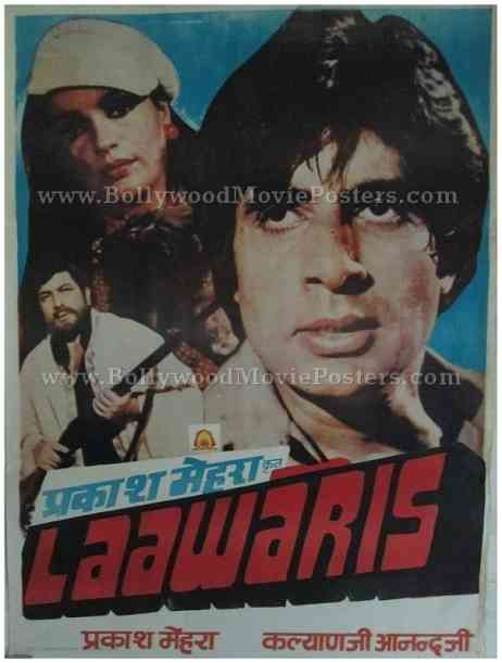 Laawaris Amitabh Bachchan old movies posters