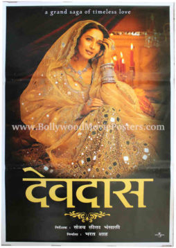 Madhuri Dixit movie posters Devdas film photo in saree