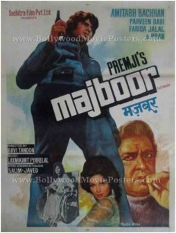 Majboor old Amitabh Bachchan movie posters