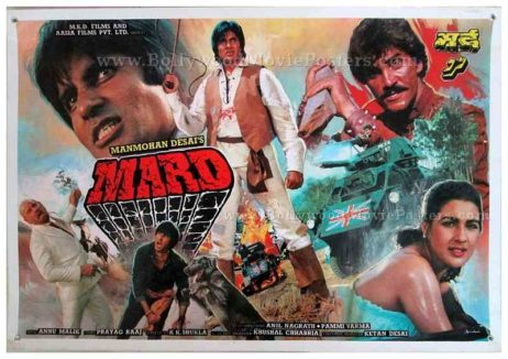 Mard Amitabh old movie posters for sale