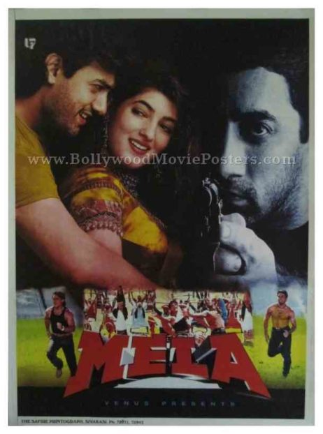 Mela aamir khan all classic bollywood movie posters