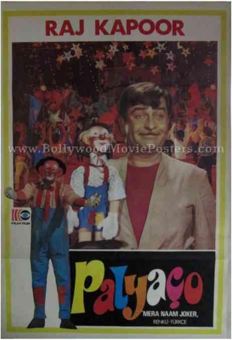 Mera Naam Joker old Raj Kapoor movie film posters for sale online buy