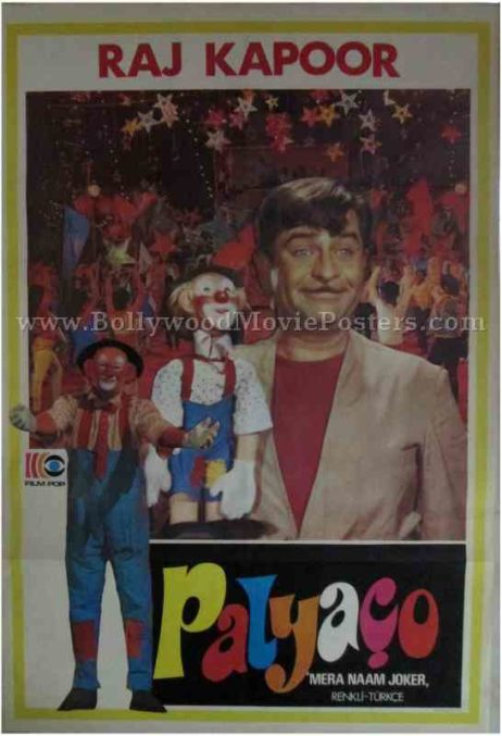 Mera Naam Joker old Raj Kapoor movie film posters for sale online buy