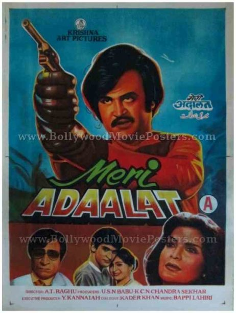 Meri Adalat buy rajinikanth posters for sale online