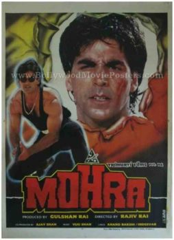 mohra movie 1994 classic hindi indian film posters