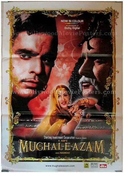 Mughal-e-azam original movie posters for sale