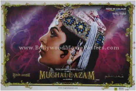 Mughal-e-azam original poster buy