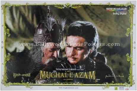 Mughal-e-azam original poster for sale
