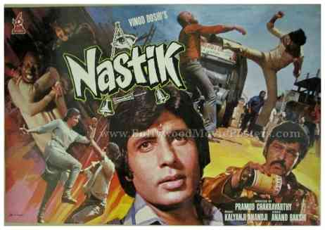 Nastik 1983 buy old Amitabh Bachchan vintage bollywood posters for sale online