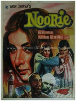 Noorie 1979 vintage bollywood indian hindi film posters mumbai delhi uk