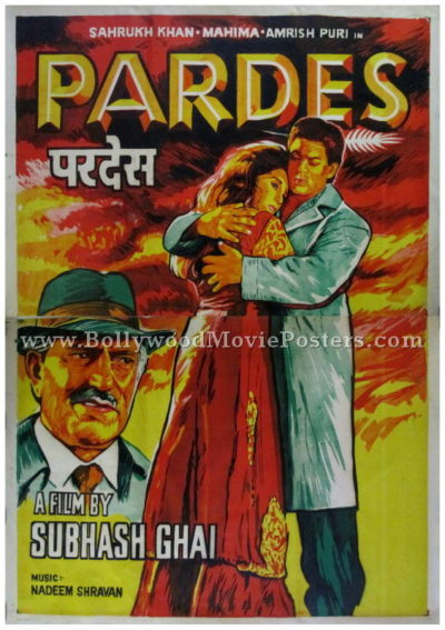 Pardes Shahrukh Khan posters