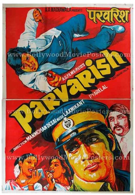Parvarish old Amitabh movie posters for sale