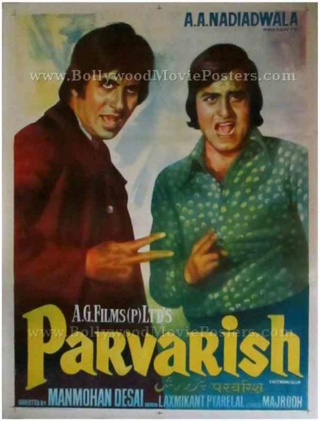 Parvarish buy old Amitabh Bachchan movies posters for sale