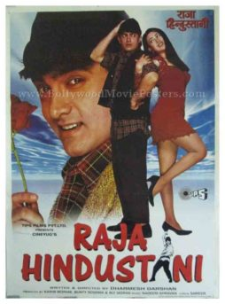 Raja Hindustani 1996 aamir khan all classic bollywood film posters