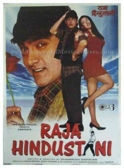 Raja Hindustani 1996 aamir khan all classic bollywood film posters