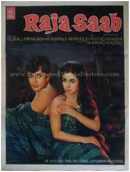 Raja Saab 1969 buy old bollywood posters for sale online