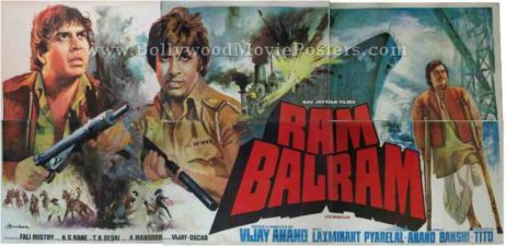 ram balram amitabh bachchan old movies posters