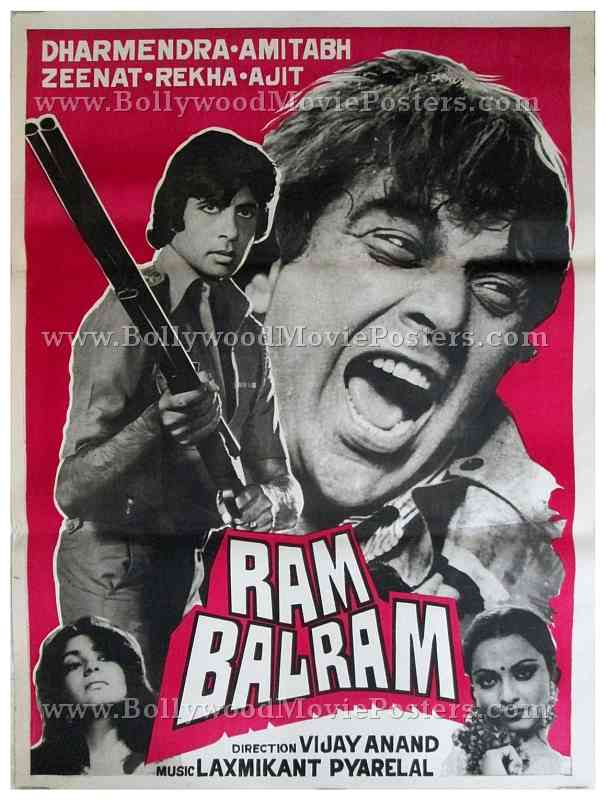 ram balram bollywood movie posters