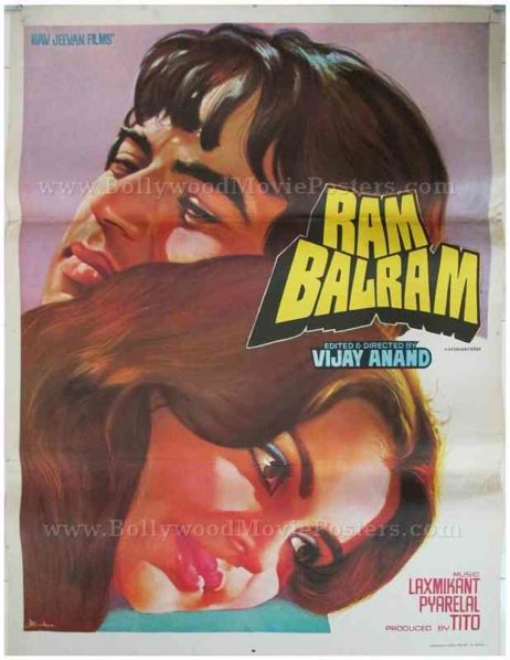 Ram Balram Dharmendra Zeenat old vintage movie posters for sale in India