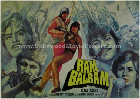 Ram Balram old Amitabh movie posters