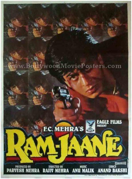 Ram Jaane 1995 buy Shahrukh Khan SRK posters online india