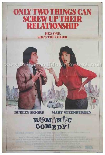 Romantic Comedy 1983 Dudley Moore old vintage Hollywood movie posters for sale