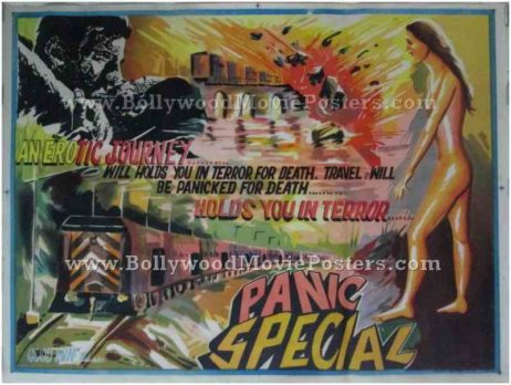 Runaway hand painted movie posters for sale India