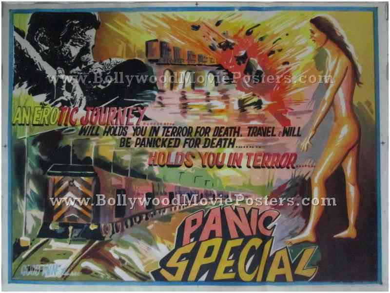 The Runaway Train & Panic Special | Bollywood Movie Posters