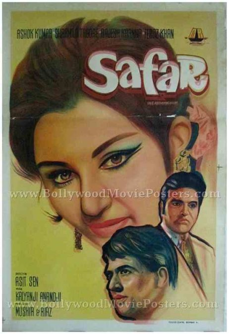 Safar 1970 buy old rajesh khanna bollywood posters for sale online