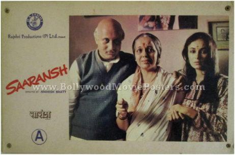 Saransh Anupam Kher photo