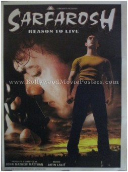 Sarfarosh Aamir Khan buy classic bollywood movie posters
