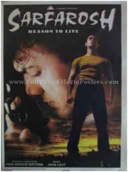 Sarfarosh Aamir Khan buy classic bollywood movie posters