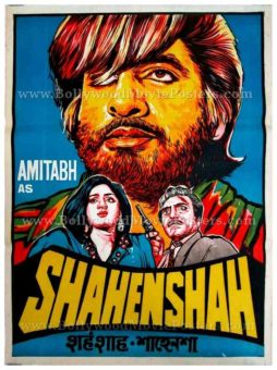 Shahenshah 1988 Amitabh Bachchan original old movie posters india for sale