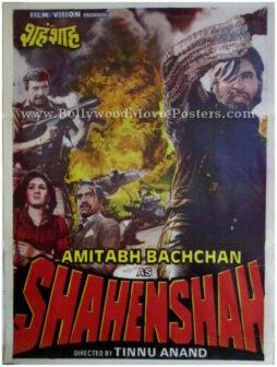 Shahenshah old Amitabh Bachchan movie posters