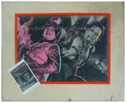 Shamsheer Baaz 1953 Fearless Nadia Hunterwali old hand painted bollywood posters
