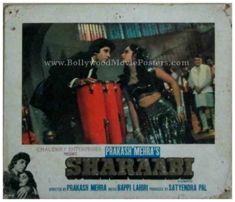 Sharaabi 1984 amitabh bachchan inteha ho gayi intezaar ki old movie photos stills posters