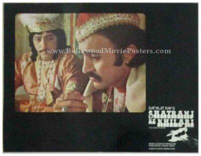 Shatranj Ke Khilari 1977 satyajit ray movie stills photos buy film posters for sale