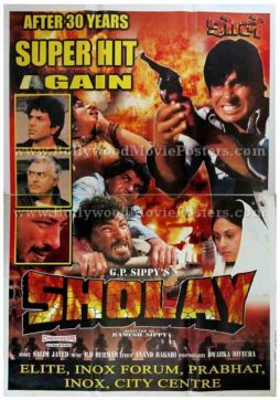 Sholay original Bollywood posters for sale online