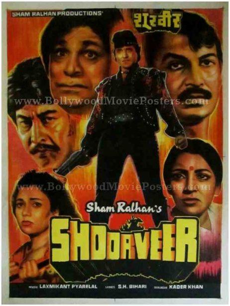 Shoorveer 1988 where to buy old bollywood movie posters in delhi