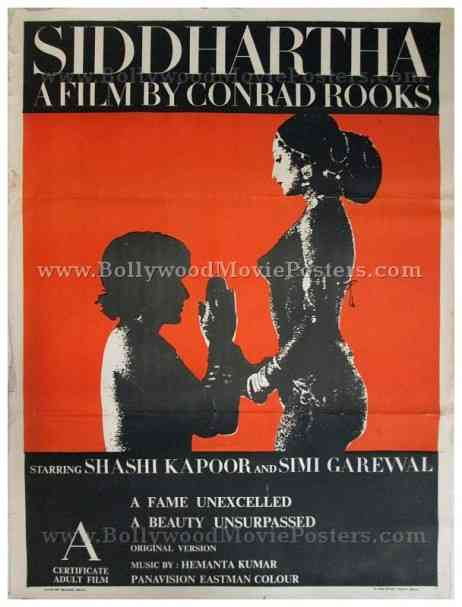 Siddhartha Simi Garewal nude Bollywood hot movie posters