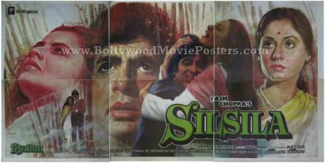 Silsila Amitabh Bachchan old movies posters