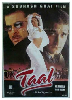 Taal 1999 classic hindi movie posters