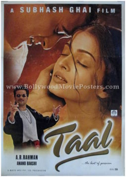 Taal movie poster classic bollywood film