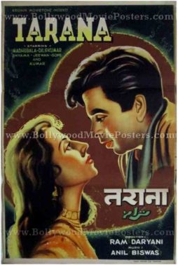 Tarana original bollywood film posters for sale
