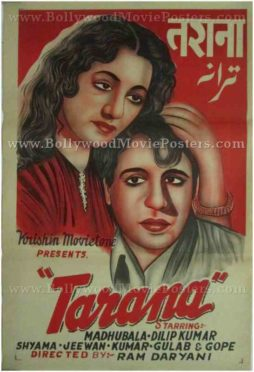 Tarana buy vintage bollywood movie posters for sale online