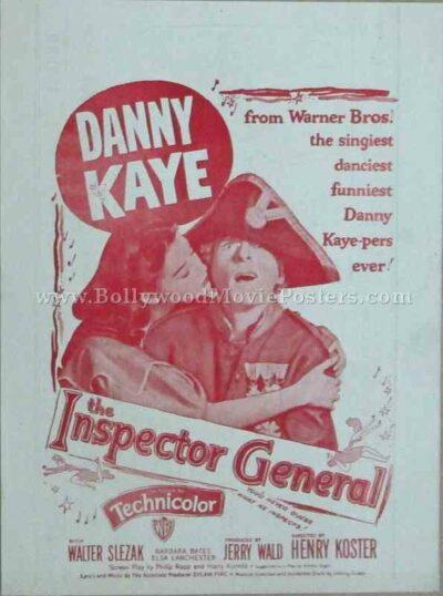 The Inspector General 1949 old vintage movie handbills for sale