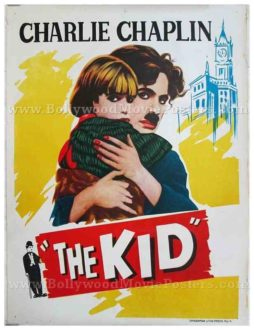 Charlie Chaplin The Kid original old vintage Hollywood movie posters for sale