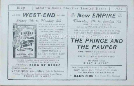 The Kissing Bandit 1948 old vintage movie handbills for sale online in US, UK, Mumbai, India