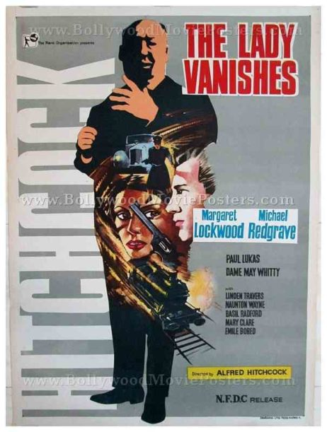 The Lady Vanishes original Alfred Hitchcock movie posters for sale