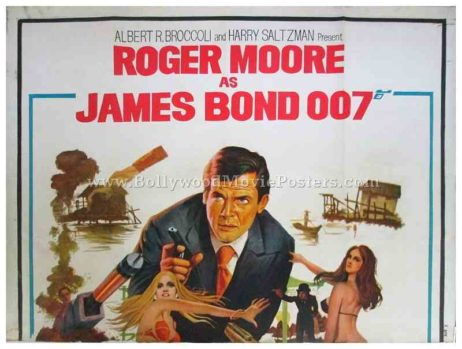 roger moore 007 posters